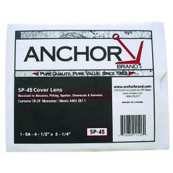 Anchor Brand - SP-45 - Cover Lens - Scratch, Static Resistant (Each)