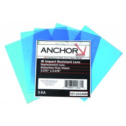 Anchor Brand - UV327H - Pk/5 Speedglas Replacement Lens Eq 03-0270-00