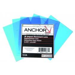Anchor Brand - UV328H - Pk/5 Speedglas Replacement Lens Eq 03-0280-00