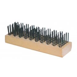 Anchor Brand - 290 - Anchor Carbon Steel Butcher Block Brush, Ea