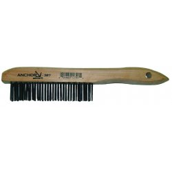 Anchor Brand - 387 - Anchor Carbon Steel Shoehandle Brush