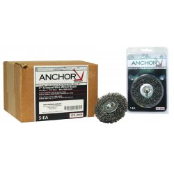 "Anchor Brand - CFX-3 - Anchor 3"" Mtd. Crimp Wheel Fine Cfx-3 .008, Ea"