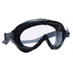 H.L. Bouton - 4510417 - Direct Vent Goggle Clear Lens Black Frame Anti Fog Bouton Ansi Z87.1, Ea