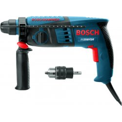 "Bosch - 11253VSR - 1"" Sds Plus Rotary Hammer With Pistol Grip, Ea"