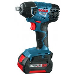 "Bosch - 24618-01 - 1/2"" Square Cordless Impact Wrench Kit, 18.0 Voltage, 133 ft.-lb. Max. Torque, Battery Included"