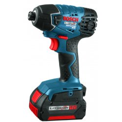 Bosch - 25618-01 - 1/4 Cordless Impact Driver Kit, 18.0 Voltage, 1500 In.-lb. Max. Torque, Battery Included