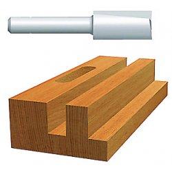 "Bosch - 85180 - 1/4"" Straight Hss Routerbit 2-flutes 1, Ea"