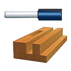 """Bosch - 85241M - 3/8"""" Ct Straight Routerbit 2-flutes 1, Ea"""