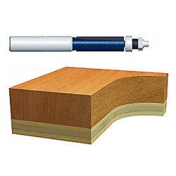 """Bosch - 85601M - 1/2"""" Templet/trimming Router Bit 2-flute Car, Ea"""