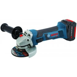 "Bosch - CAG180-01 - 4-1/2"" Cordless Cutoff/Grinder Kit, 18.0 Voltage, 10, 000 No Load RPM, Battery Included"