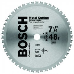Bosch - CB748ST - Bosch 7 1/4 X 5/8 DKO X 13/16 Diamond X .065 7900 RPM 48 TPI ATB Grind Construction Series Carbide Tipped Circular Saw Blade (For Use With Portable/Worm Drive Saw), ( Each )