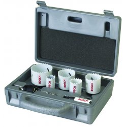 Bosch - HB19EL - Bosch HB19EL 19-Piece Bi-Metal Various Length Mandrel Hole Saw Electrician Set