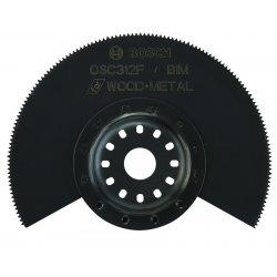 Bosch - OSC312F - Bosch OSC312F 3-1/2-Inch x 7/8-Inch Laser Etched Depth Guide BIM Flush Cut Blade