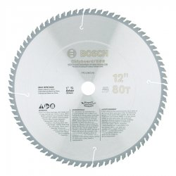 Bosch - PRO1280ST - 12 In 80 Tooth Steel Cutting Circular Saw Blade