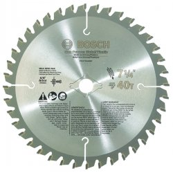 Bosch - PRO72540NF - Bosch 7 1/4' X 5/8' DKO X .070' 7900 RPM 40 TPI TCG Grind Professional Series Circular Saw Blade (For Use With Portable/Worm Drive Saw), ( Each )