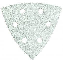 Bosch - SDTW180 - 3-1/2 In. 180 Grit 5 pc. White Detail Sander Abrasive Triangles for Paint
