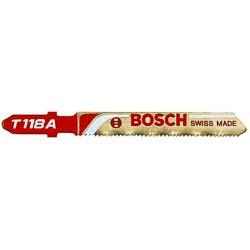 Bosch - T118A100 - 3 5/8' X .300' X .040' Bosch T-Shank Style Basic Jig Saw Blade With 17 - 24 Progressive Teeth Per Inch (100 Per Pack), ( Package )