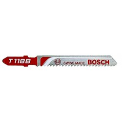 "Bosch - T118B - 3 5/8"" X .300"" X .040"" Bosch T-Shank Style Basic Jig Saw Blade With 11 - 14 Progressive Teeth Per Inch (5 Per Pack)"