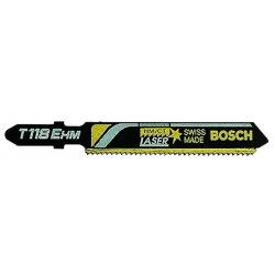 "Bosch - T118EHM - 3"" 14tpi Carbide Tooth Hcs Jigsaw Blade, Ea"