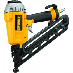 Dewalt - D51276K - DeWALT D51276K Heavy-Duty 1'' to 2-1/2'' 15 Ga Finish nailer