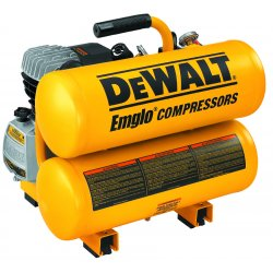 Dewalt - D55153 - DeWALT D55153 Heavy-Duty 1.1 Max HP 4 Gallon Electric Hand Carry Compressor