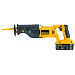 Dewalt - DC385K - Cordless Reciprocating Saw Kit, 18.0 Voltage, Pivoting Adjustable Shoe Design, Battery Included