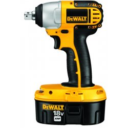 Dewalt - DC820KA - DeWALT XRP 18 V Ni-Cad 2400 RPM Cordless Impact Wrench Kit With 1/2' Chuck (Includes 1 Hour Charger, (2) 18 Volt Batteries, 18 Volt Compact Drill/Driver And Heavy-Duty Kit Box), ( Each )