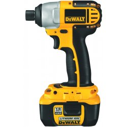"Dewalt - DC827KL - 1/4"" Hex Cordless Impact Driver Kit, 18.0 Voltage, 1330 In.-lb. Max. Torque, Battery Included"
