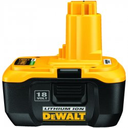 Dewalt - DC9180 - Dewalt XRP Hardware Tools Battery - Lithium Ion (Li-Ion) - 18V DC