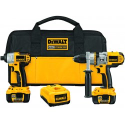 Dewalt - DCK275L - Dewalt DCK275L 18V Cordless XRP Li-Ion Hammerdrill / Impact Driver Combo Kit