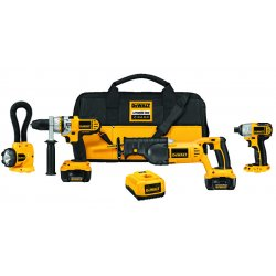 Dewalt - DCK475L - DeWALT DCK475L 18V XRP Lithium-Ion 4-Tool Combo Kit with NANO Technology