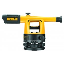 Dewalt - DW090PK - DeWALT 20x Aluminum Manual Builders Level Package With Tripod, Quick Adjust Legs And Protected Leveling Vial, ( Each )