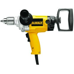 "Dewalt - DW130V - 1/2"" Electric Drill, 9.0 Amps, Spade Handle Style, 0 to 550 No Load RPM, 120VAC"