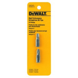 "Dewalt - DW2003 - #3 Phillips Screwdriver Bit, 1/4"" Shank Size"