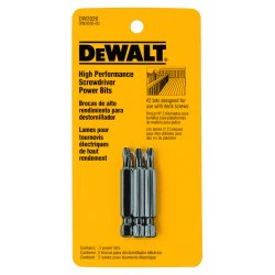 "Dewalt - DW2026 - #2 Phillips Power Bit, 1/4"" Shank Size"