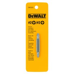 "Dewalt - DW2028 - #2 Phillips Double Ended Bit, 1/4"" Shank Size"