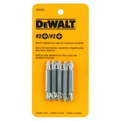 "Dewalt - DW2029 - #2 Phillips Double Ended Bit, 1/4"" Shank Size"