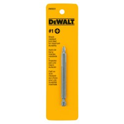 "Dewalt - DW2031 - #1 Phillips Power Bit, 1/4"" Shank Size"
