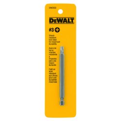 Dewalt - DW2033 - DeWALT DW2033 #3 Phillips 3-1/2'' Screwdriver Power Bit (1 bits)