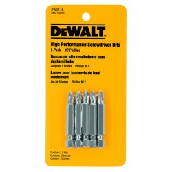 "Dewalt - DW2115 - #2 Phillips Power Bit, 1/4"" Shank Size"