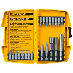Dewalt - DW2161 - Dewalt 21 Piece Screwdriving Set with Tough Case - Steel