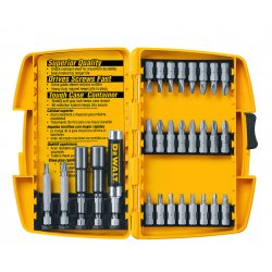 Dewalt - DW2162 - Dewalt 29 Pc. Screwdriving Set w/Tough Case - Steel - Heavy Duty, Heat Treated, Shock Resistant - 1