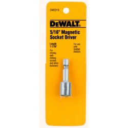 "Dewalt - DW2219 - DeWALT 1 7/8"" Magnetic Nutdriver With 5/16"" Socket Drive"