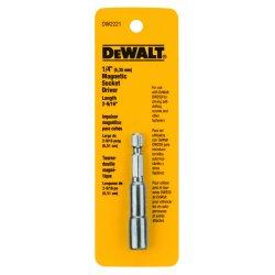 """Dewalt - DW2221 - Nutsetter, 1/4"""" Hex, 2-9/16"""" L, Steel"""