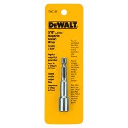 """Dewalt - DW2222 - DeWALT 2 9/16"""" Magnetic Nutdriver With 5/16"""" Socket Drive"""
