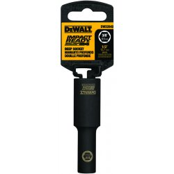 Dewalt - DW22862 - DeWALT DW22862 1/2'' 1/2 Drive 6pt Deep Impact Driver Ready Socket