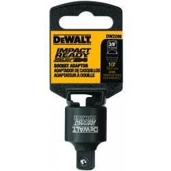 Dewalt - DW2299 - Socket Adapter, 1/2 In Sq To 3/8 In Sq