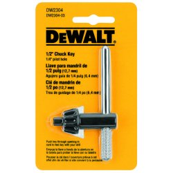 Dewalt - DW2304 - DeWALT 1/2' Chuck Key With 1/4' Pilot
