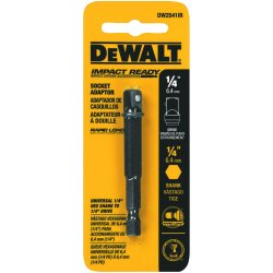 "Dewalt - DW2541IR - Dewalt 1/4"" Hex Shank to 1/4"" Socket Adaptor"