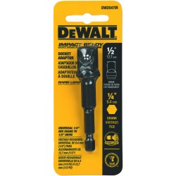Dewalt - DW2547IR - Socket Adapter, 1/4 Hex to 1/2 Socket